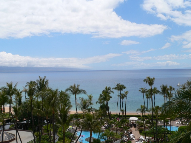 ocean view from the Westin Maui